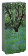 Forget Me Not Flowers Portable Battery Charger