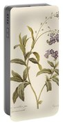 Forget Me Not Portable Battery Charger by Pierre Joseph Redoute