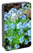 Forget-me-not Portable Battery Charger