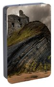 Forgotten Castle In Ballybunion Portable Battery Charger
