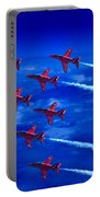 Formation Flying Britains Red Arrows Portable Battery Charger
