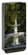 Forsyth Fountain 1858 Portable Battery Charger