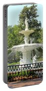 Forsyth Park Fountain Square Portable Battery Charger