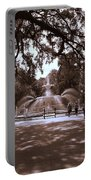 Forsyth Park Sepia Portable Battery Charger