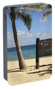 Fort Lauderdale Beach Portable Battery Charger