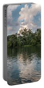 Fort Loudoun Sunset Portable Battery Charger by Todd Blanchard