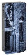 Fort Worth Impressions Scat Lounge Bw Portable Battery Charger