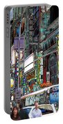 Forty Second And Eighth Ave N Y C Portable Battery Charger
