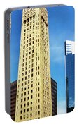 Foshay Tower From The Street Portable Battery Charger