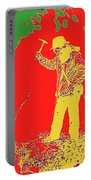 Fossil Hunter Red Yellow Green Portable Battery Charger