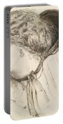 Found - Study For The Head Of The Girl Portable Battery Charger