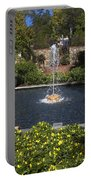 Fountain And Peppers Portable Battery Charger