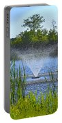 Fountain Art Portable Battery Charger