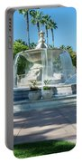 Fountain At Rio Vista Portable Battery Charger