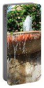Fountain At Taliesen Portable Battery Charger