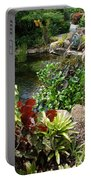 Fountain Flowers Portable Battery Charger