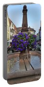 Fountain In Wertheim, Germany Portable Battery Charger