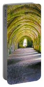 Fountains Abbey, Vaulted Chamber Portable Battery Charger