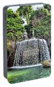 Fountains.  Tivoli. Portable Battery Charger