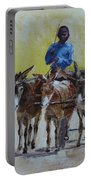 Four Donkey Drawn Cart Portable Battery Charger