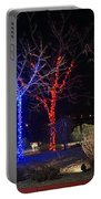 Four Lighted Trees Portable Battery Charger