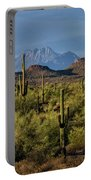 Four Peaks On The Horizon  Portable Battery Charger