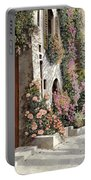 four seasons- spring in Tuscany Portable Battery Charger