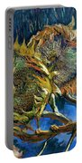 Four Sunflowers Gone To Seed, By Vincent Van Gogh, 1887, Kroller Portable Battery Charger