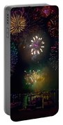 Fourth Of July Fireworks Portable Battery Charger