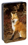 Fox In The Fall Portable Battery Charger