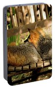 Foxes In A Chair Portable Battery Charger
