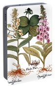 Foxglove And Herb Paris Portable Battery Charger