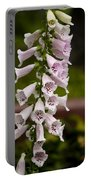 Foxglove At The Getty - Digitalis Portable Battery Charger