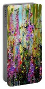 Foxgloves Panel Two Portable Battery Charger