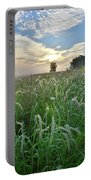 Foxtail Grasses In Glacial Park Portable Battery Charger