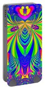 Fractal 31 Psychedelic Love Explosion Portable Battery Charger
