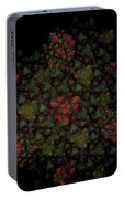 Fractal Christmasbouquet  Portable Battery Charger