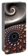 Fractal Contact Portable Battery Charger
