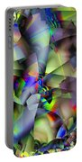 Fractal Cubism Portable Battery Charger