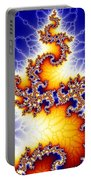 Fractal Dragon Portable Battery Charger