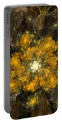 Fractal Floral 02-12-10 Portable Battery Charger
