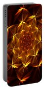 Fractal Floral 062610a Portable Battery Charger