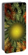 Fractal Floral 12-05-09 Portable Battery Charger