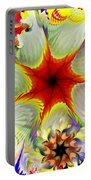 Fractal Garden 9 Portable Battery Charger