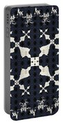 Fractal Patterns Portable Battery Charger