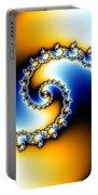 Fractal Spiral Portable Battery Charger