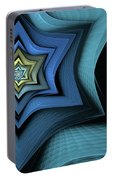 Fractal Star Portable Battery Charger