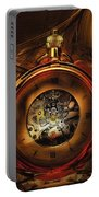 Fractal Time Portable Battery Charger by Richard Ricci