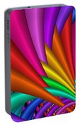 Fractalized Colors -7- Portable Battery Charger by Issabild -