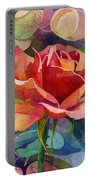 Fragrant Roses Portable Battery Charger